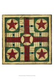 Small Antique Parcheesi Print by Ethan Harper