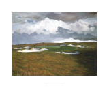 Passing Weather, 17th at Sand Hill Premium Giclee Print by Michael G. Miller