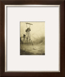The War of the Worlds, The Martians Fire Their Gas- Guns Framed Giclee Print by Henrique Alvim Corrêa