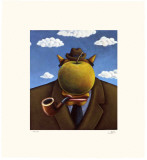 Coyote Portrait of Magritte Limited Edition by Markus Pierson