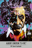 Albert Einstein - David Garibaldi Posters