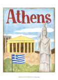 Athens Print by Megan Meagher