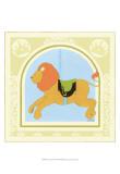 Lion Carousel Kunstdrucke von Erica J. Vess