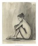 Sumi-e Figure IV Giclee Print by Ethan Harper