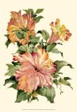 Hibiscus I Print by Joy Waldman