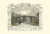 Windsor Bridge Prints by William Tombleson
