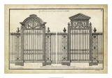 Neufforge Gate II Giclee Print by Jean-Francois de Neufforge