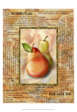 Blushing Pears Affiches par Abby White