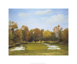 Autumn at the Country Club's Fourth Hole Premium Giclee Print by Michael G. Miller