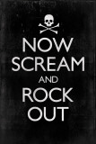 Now Scream and Rock Out Affiches