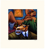 Coyote Portrait of Matisse Limited Edition by Markus Pierson