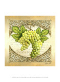 Wine Grapes II Print by Sydney Wright