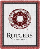 Rutgers University, Seal Throw Blanket