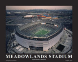 New York Jets at New Meadowlands Stadium Print by Mike Smith