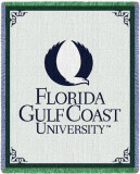 Florida Gulf Coast University Throw Blanket