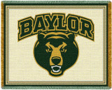Universidade de Baylor Throw Blanket