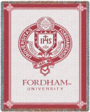 Fordham University Throw Blanket