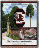 University of South Carolina, Collage Throw Blanket