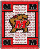University of Maryland, Fear Turtle Throw Blanket