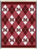 Morehouse College, Plaid Throw Blanket