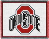 Ohio State University Throw Blanket