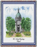 US Naval Academy, Chapel Throw Blanket