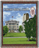 Harvard University, Medical School Throw Blanket