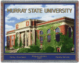Murray State University, Pogue Library Throw Blanket