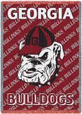 University of Georgia, Bulldogs Throw Blanket