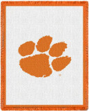 Clemson University, Paw Throw Blanket