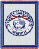 Tennessee State University, Seal Throw Blanket