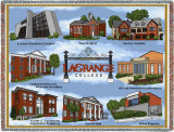 LaGrange College, Buildings Throw Blanket