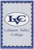 Lebanon Valley College, Logo Throw Blanket