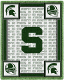 Michigan State University, Go State Throw Blanket