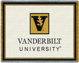 Vanderbilt University, Leaf Logo Throw Blanket