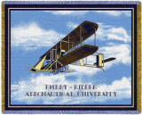 Embry Riddle University, Flyer Throw Blanket