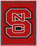 North Carolina State University, Logo Red Throw Blanket