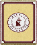 Tuskegee University, Seal Throw Blanket