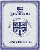 Old Dominion University, Seal Throw Blanket
