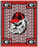 University of Georgia, Go Dawgs Throw Blanket