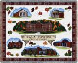 Indiana University of Pennsylvania, Collage Throw Blanket