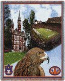 Auburn University, Eagle Collage Throw Blanket