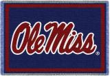 University of Mississippi, Logo Throw Blanket