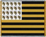 Georgia Tech, Flag Throw Blanket