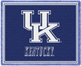 University of Kentucky, Initials Throw Blanket
