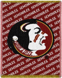 Florida State University Throw Blanket