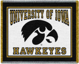 University of Iowa, Mascot Throw Blanket