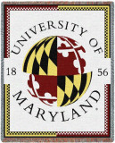 University of Maryland, Seal Throw Blanket