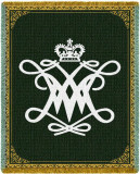 William & Mary, Cipher Throw Blanket