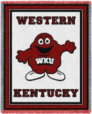 Western Kentucky University, Mascot Throw Blanket